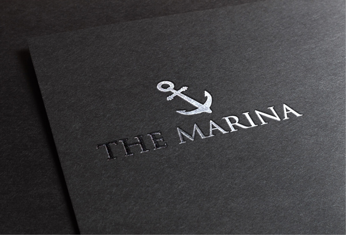 The Marina Logo Design