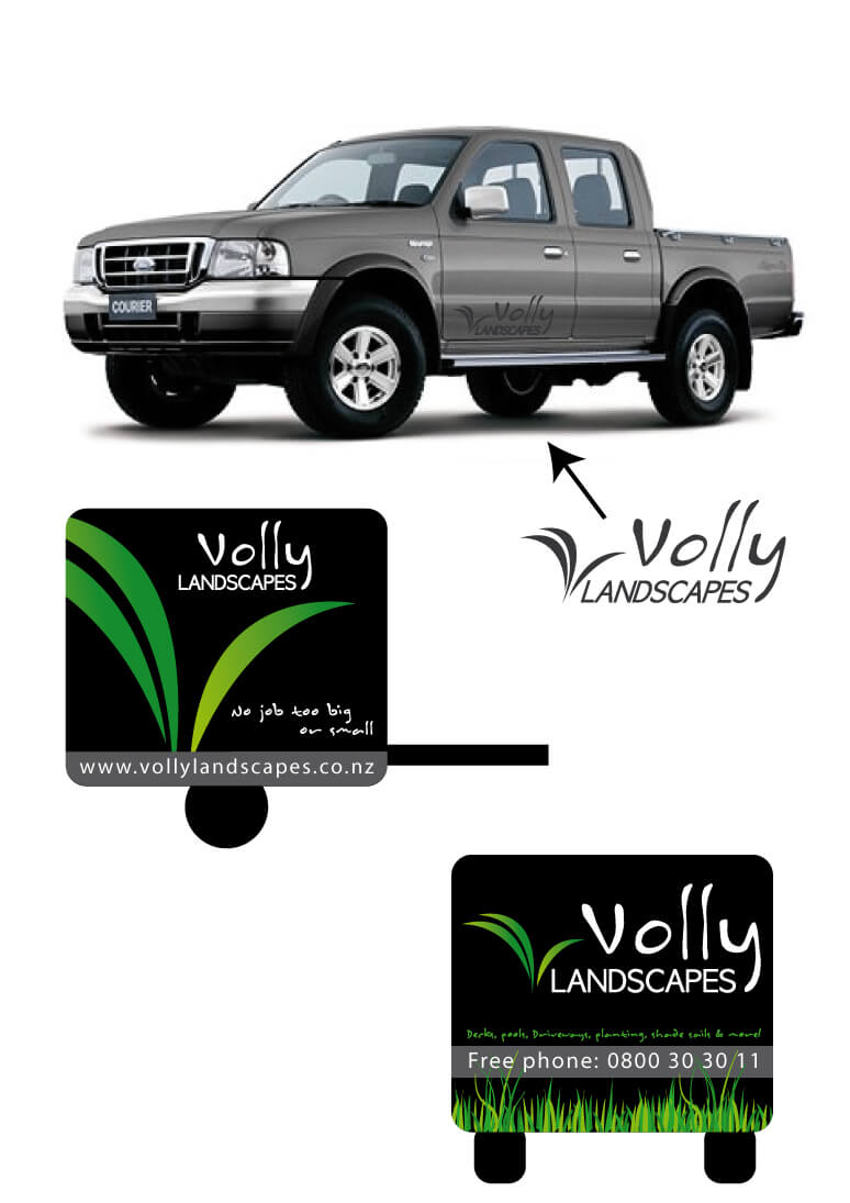 Volly-signage