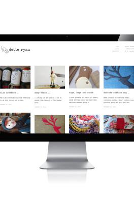 Dette Ryan Website