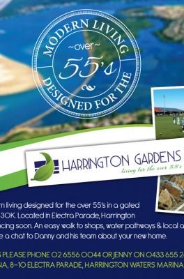 Harrington Gardens Ad