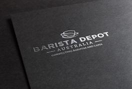Barista Depot Logo Design