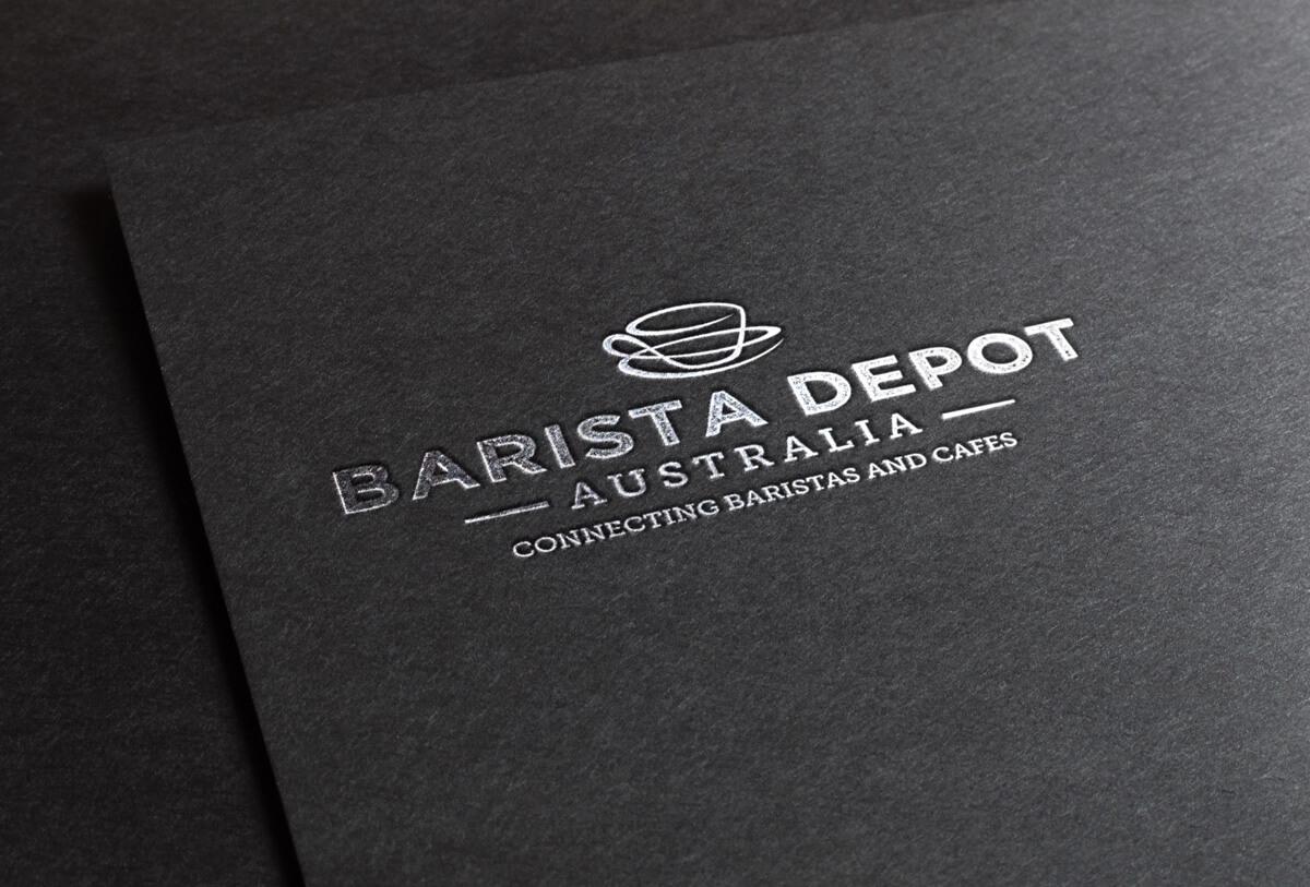 Barista Depot Australia Branding