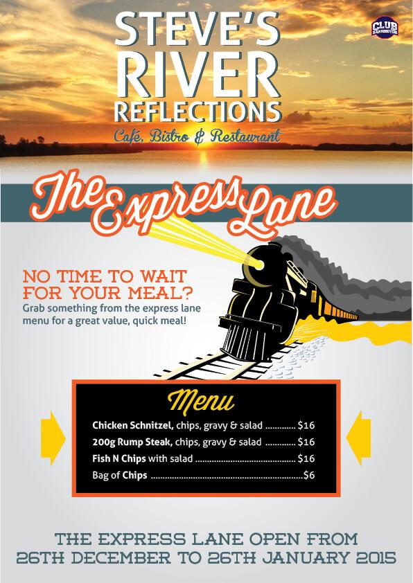 SRR-Express Lane Poster