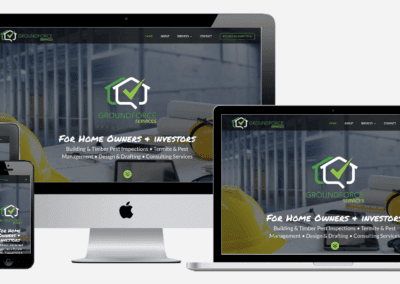 Groundforce Services Branding & Website Design