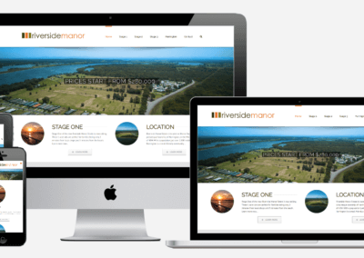 Riverside Manor Website Design