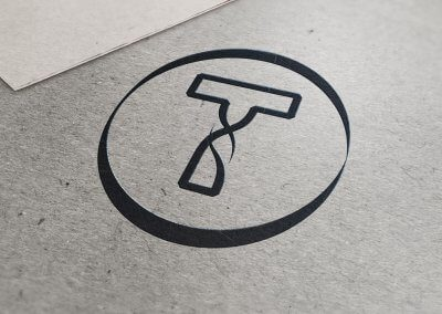 Twisted T Logo Design