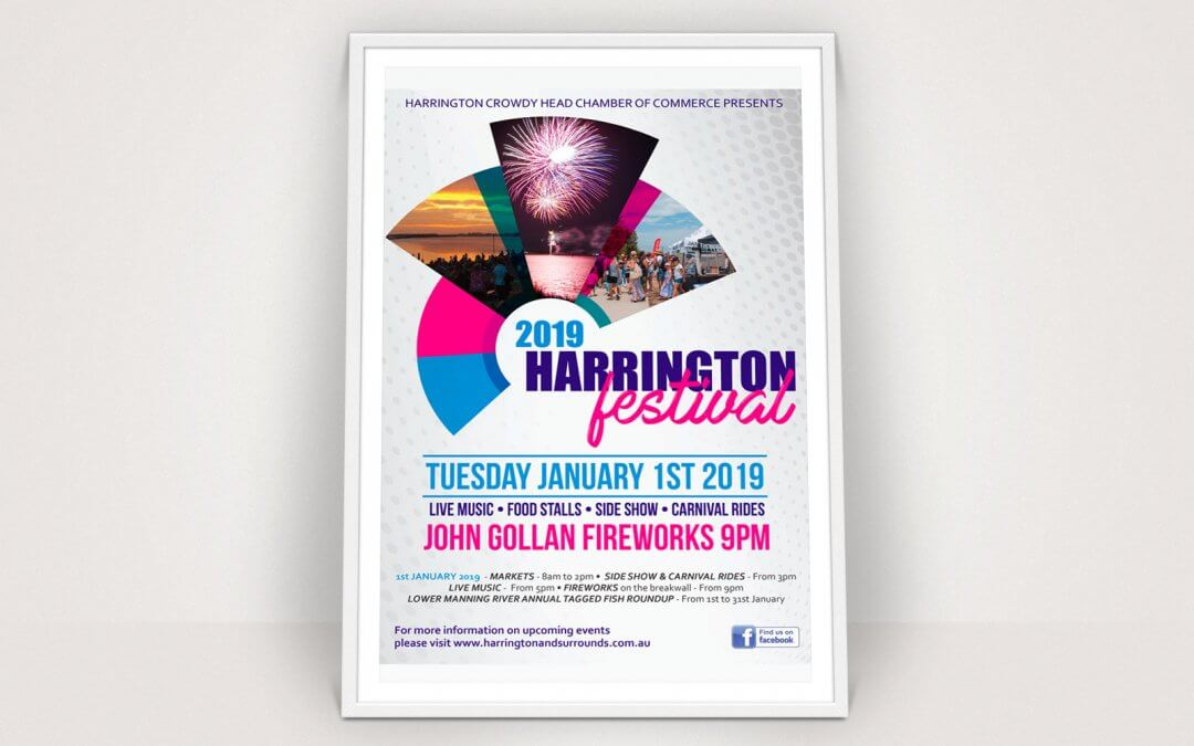 2019 Harrington Festival Poster