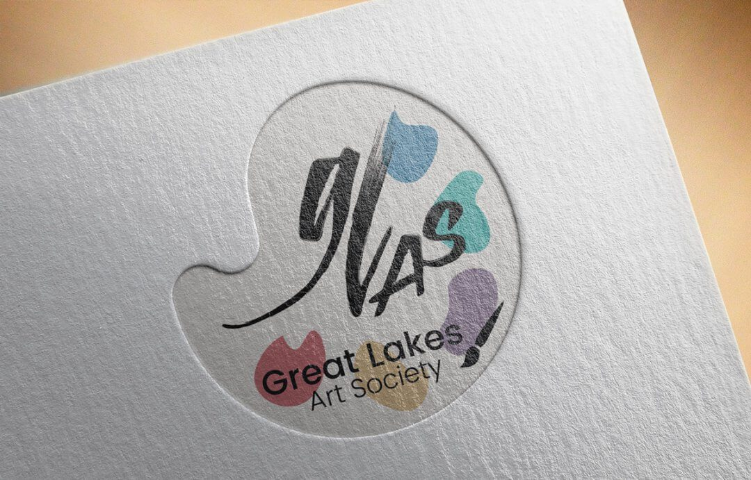 Great Lakes Art Society Logo Refresh